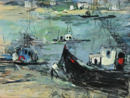 Iosif Rosenblut - În port