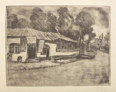 Iosif Rosenblut - Cârciuma din sat