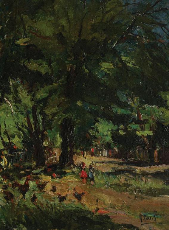 Iosif Rosenblut - Vara pe uliță