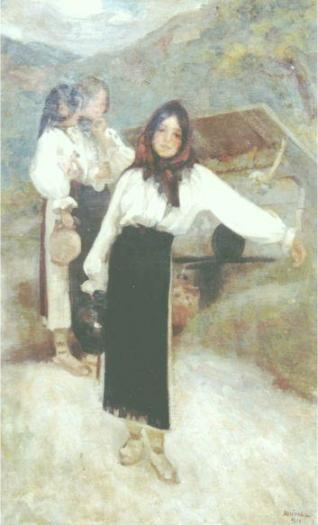 Ipolit Strambu - Fete la fantana