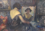 Ipolit Strambu - La oglinda
