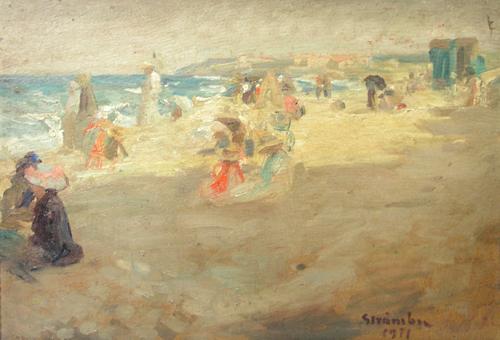 Ipolit Strambu - La plaja