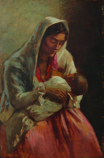 Ipolit Strambu - Maternitate