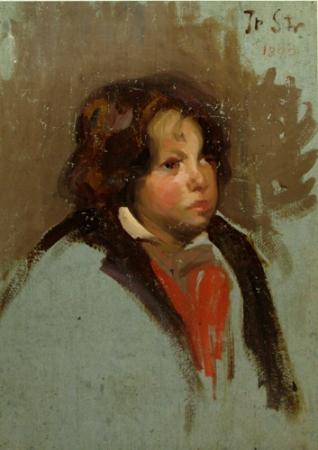 Ipolit Strambu - Portret de copil