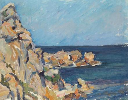 Jean-Alexandru Steriadi - Marină la Capul Caliacra