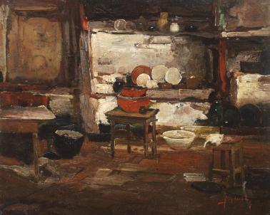 Jean Cheller - Interior ţărănesc