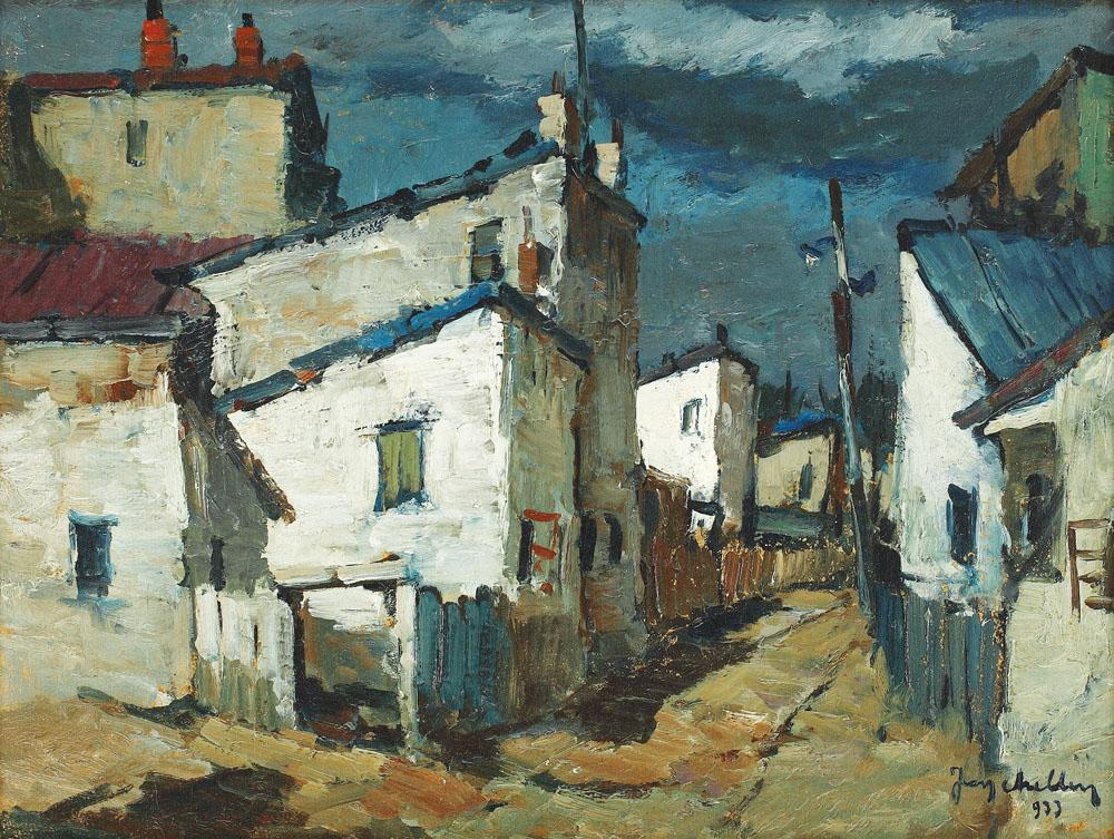Jean Cheller - Peisaj din Turnu Măgurele