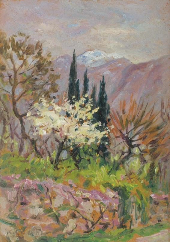 Kimon Loghi - Început de primăvară