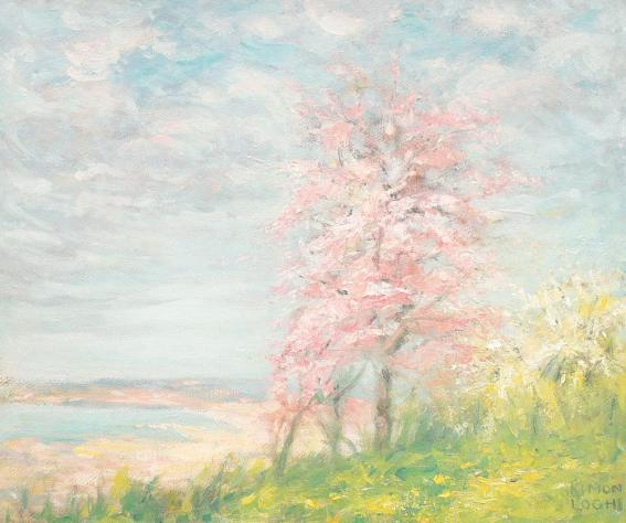Kimon Loghi - Copac înflorit
