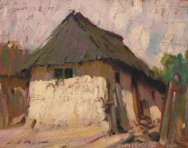 Leon Biju - Casă țărănească