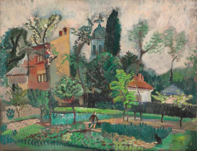 Lucia Bălăcescu Demetriade - Munci de primăvară