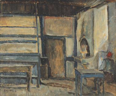 Lucian Grigorescu - Cafeneaua lui Mamut