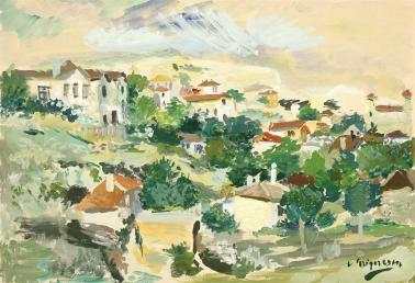 Lucian Grigorescu - Dealuri la Balcic