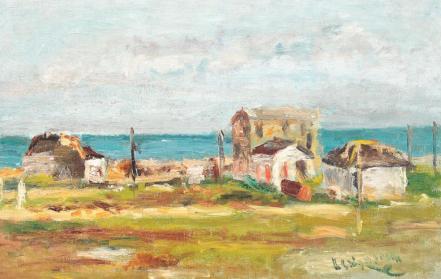 Lucian Grigorescu - Marea la Tuzla