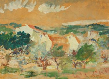 Lucian Grigorescu - Peisaj din Balcic