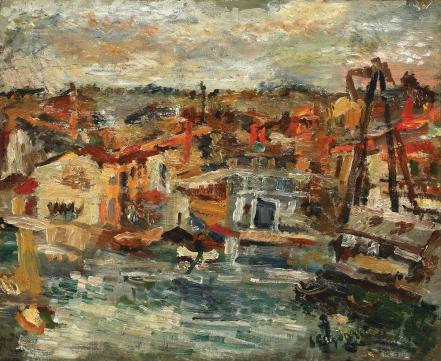 Lucian Grigorescu - Portul Martigues