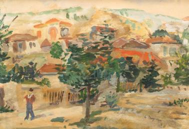 Lucian Grigorescu - Primăvară la Balcic