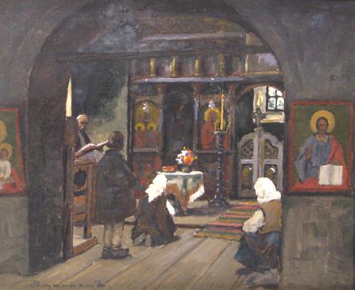 Ludovic Bassarab - Interior de biserica3
