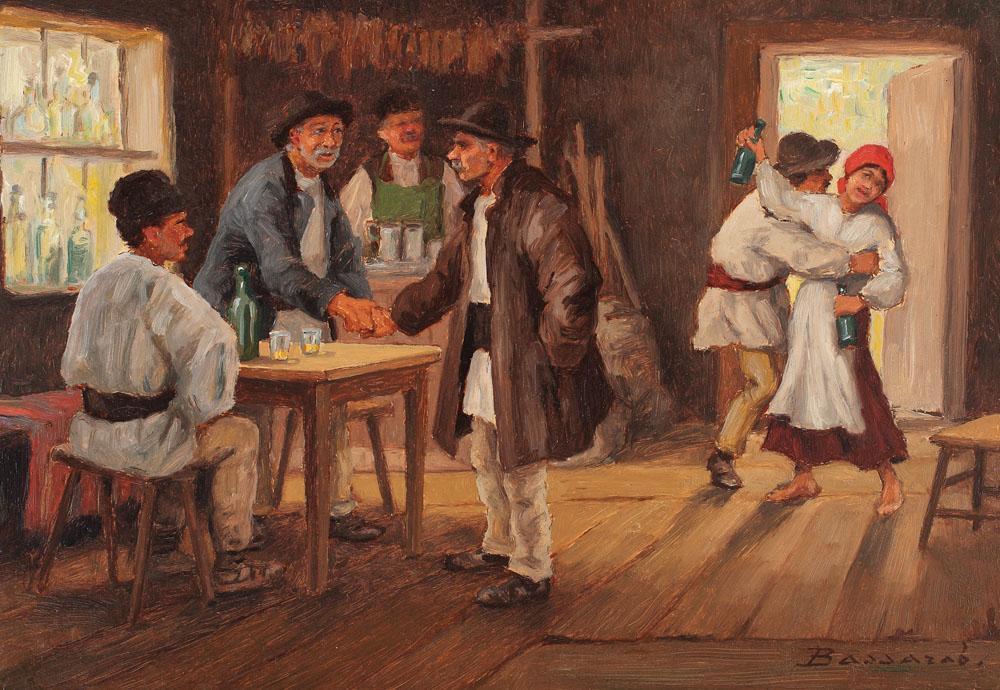 Ludovic Bassarab - La cârciuma satului