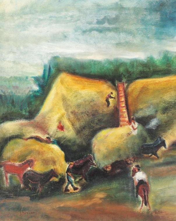 Margareta Sterian - Întoarcerea fânețelor