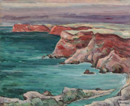 Marius Bunescu - Ţărmuri dobrogene (Capul Caliacra)