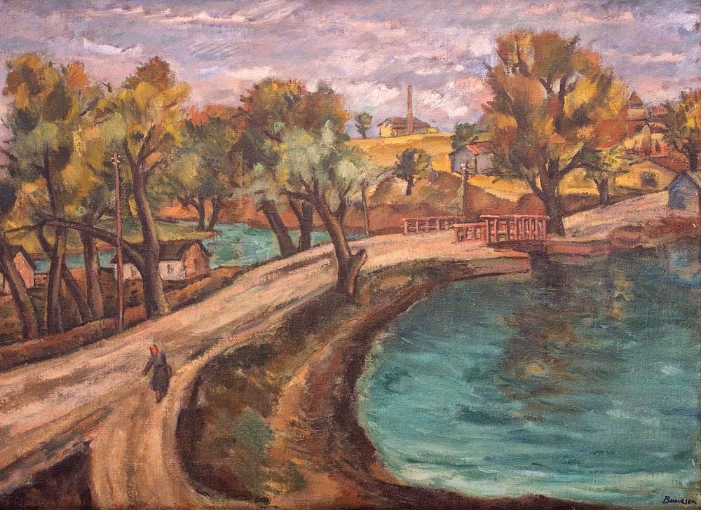 Marius Bunescu - Peisaj la Floreasca