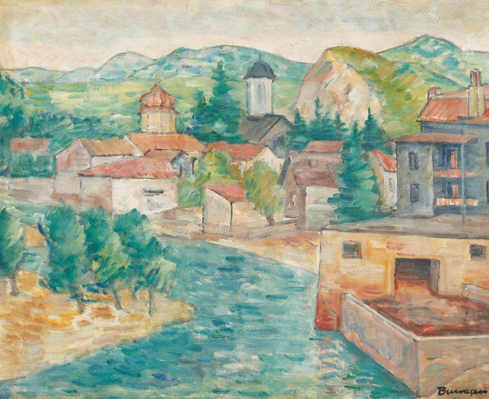 Marius Bunescu - Peisaj la Pietroșița