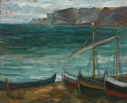 Marius Bunescu - Peisaj nordic