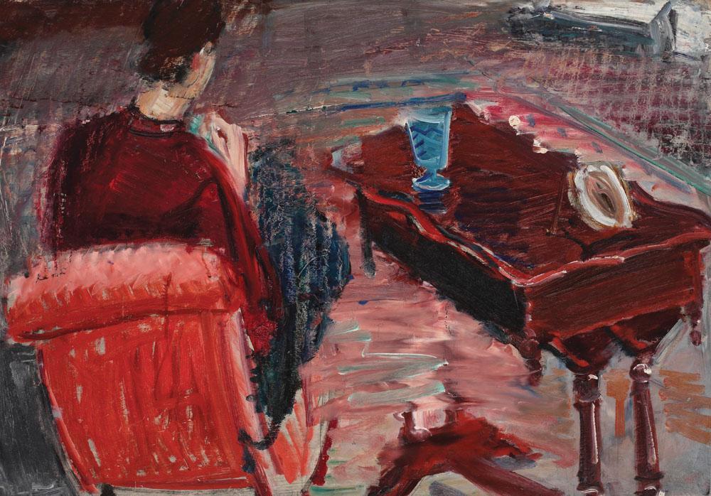 Max Arnold - Femeie în interior