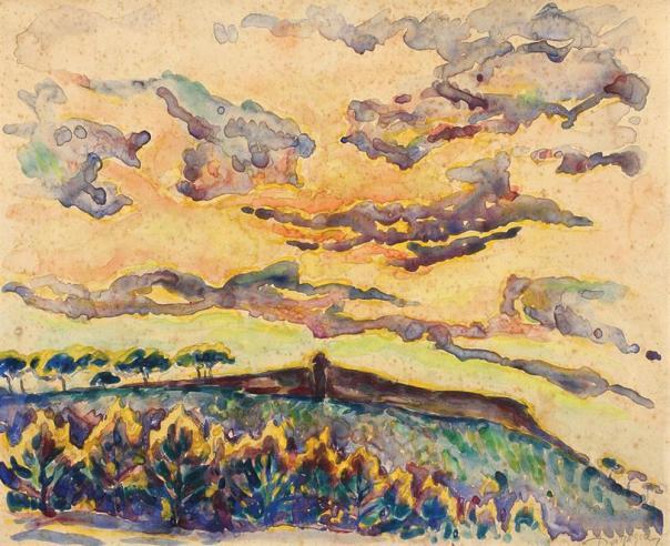Nicolae Dărăscu - Câmp de floarea-soarelui
