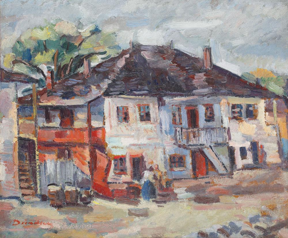 Nicolae Dărăscu - Han la Giurgiu