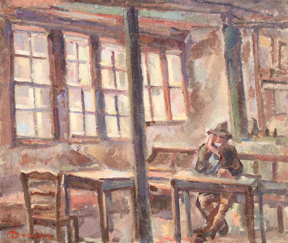 Nicolae Dărăscu - La cafeneaua lui Mamut