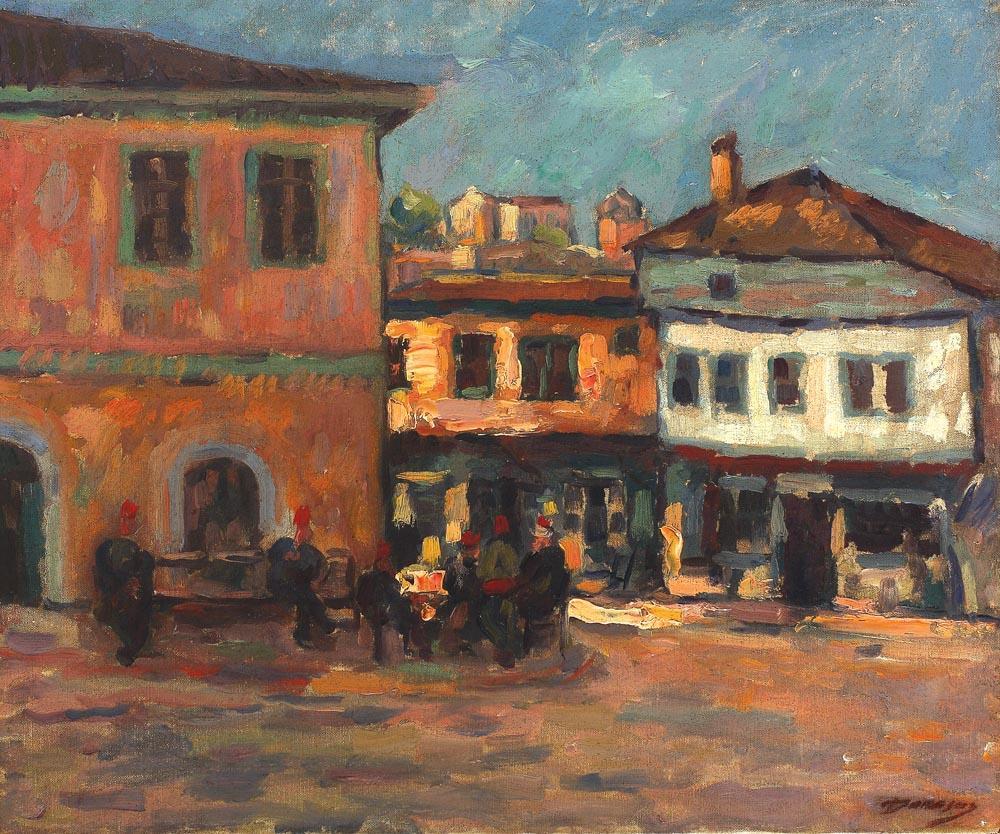 Nicolae Dărăscu - Turci la Balcic
