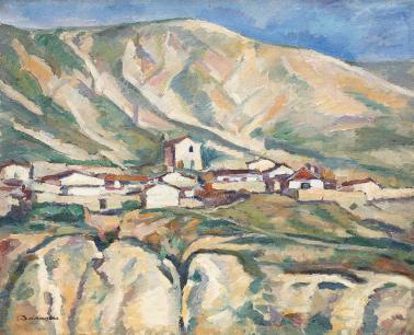Nicolae Dărăscu - Vedere asupra Balcicului