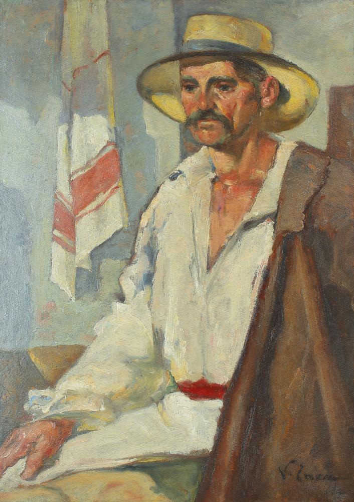 Nicolae Enea - Țăran cu ștergar