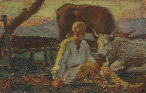 Nicolae Enea - După arat