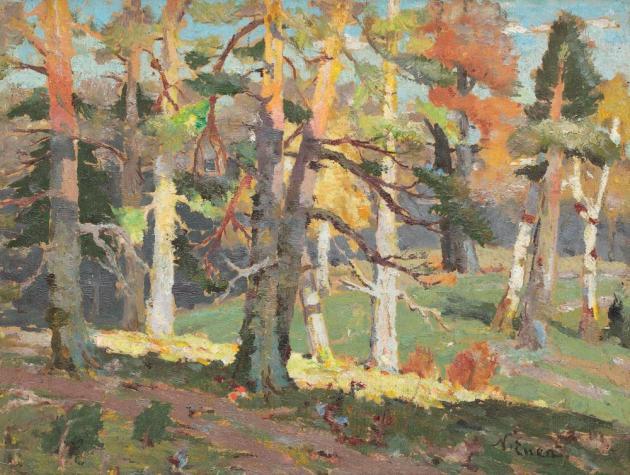 Nicolae Enea - Peisaj de toamnă