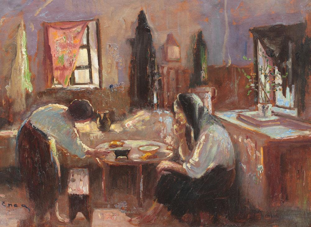 Nicolae Enea - Pregătirea mesei