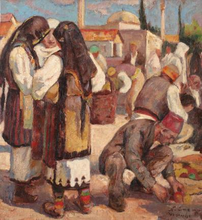 Nicolae Enea - Târg la Skopje