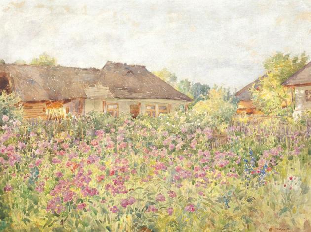Nicolae Grant - Câmp cu flori