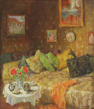 Nicolae Grant - Interior boieresc.