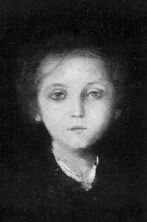 Nicolae Grigorescu - Anişoara Vlahuţă (fiica lui Alexandru Vlahuţă)