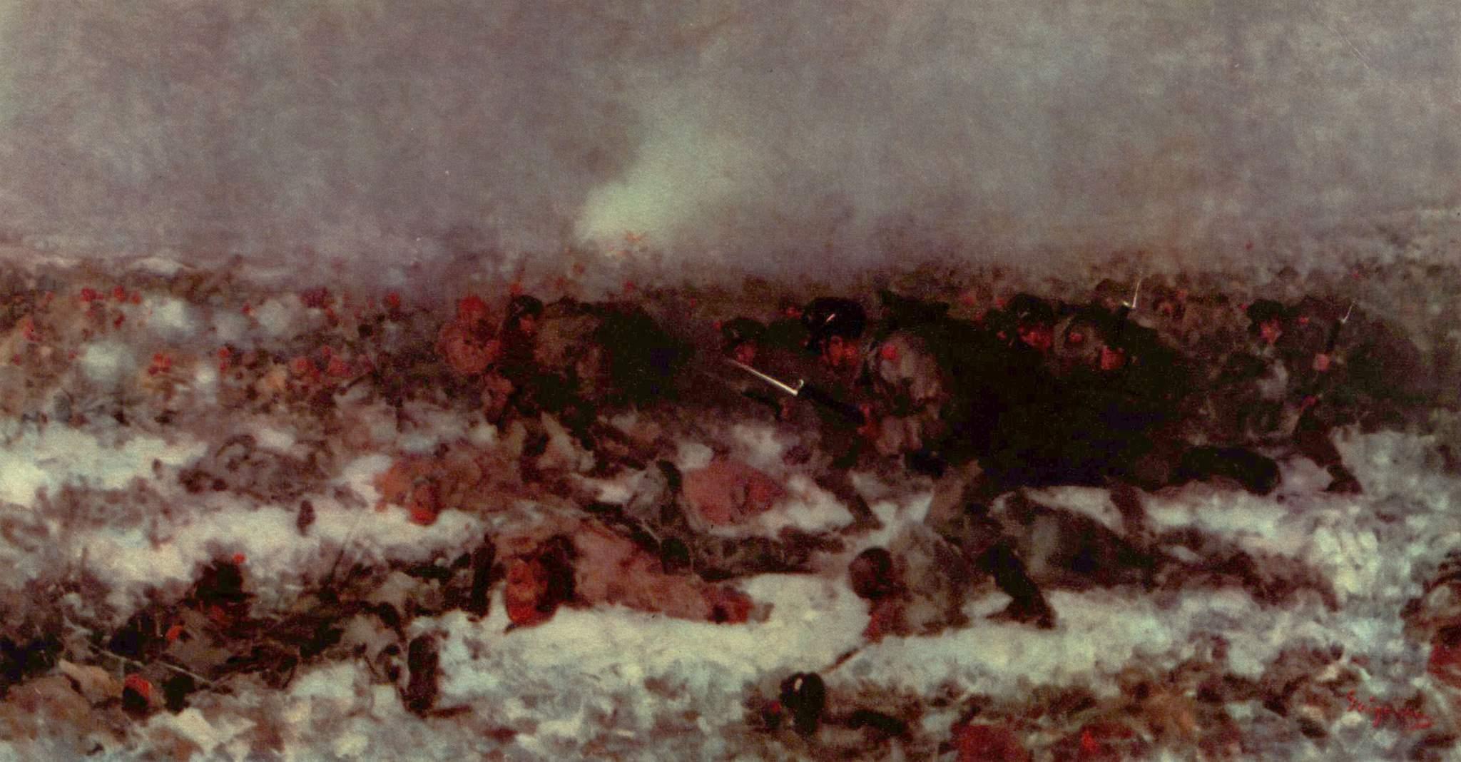 Nicolae Grigorescu - Atacul de la Smardan