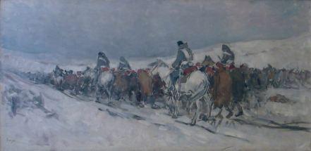 Nicolae Grigorescu - Convoi de prizonieri turci