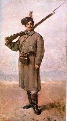 Nicolae Grigorescu - Dorobanţul