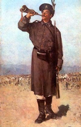 Nicolae Grigorescu - Gornistul