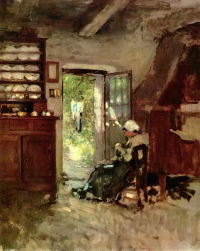 Nicolae Grigorescu - Interior in Vitre