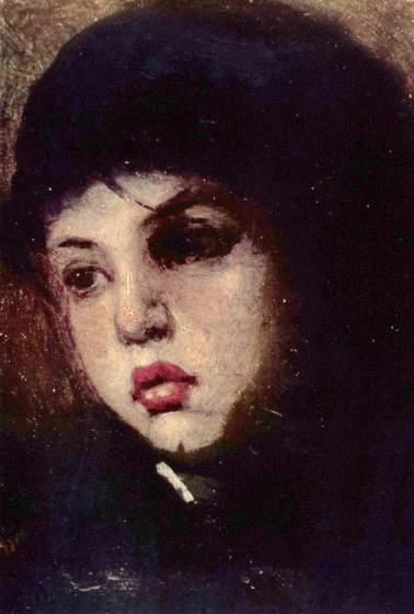 Nicolae Grigorescu - Cap de fetita