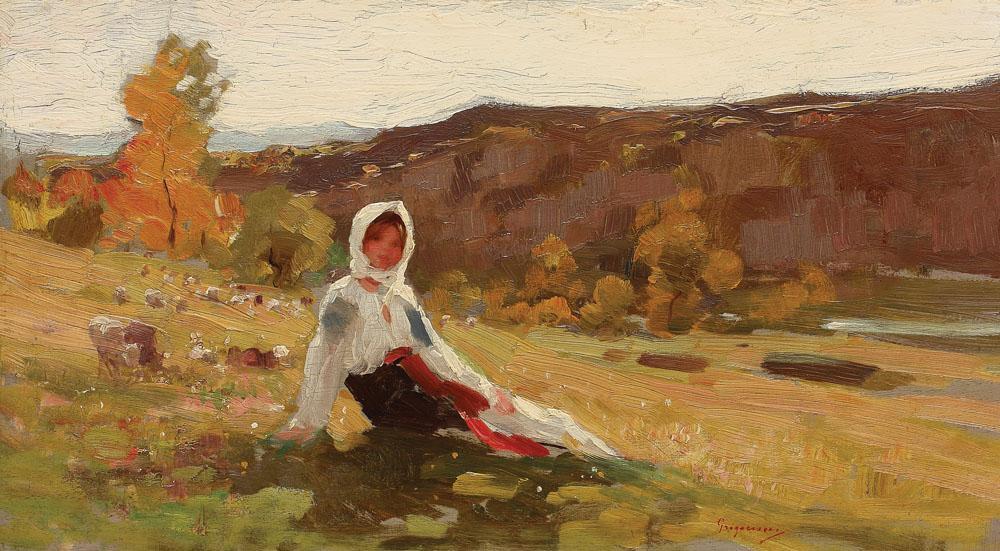 Nicolae Grigorescu - Păstoriță