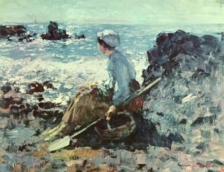 Nicolae Grigorescu - Pescarita la Grandville